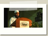 Ash-Shaikh A.W.M. Mujeer reciting the verses from Holy Qur'an